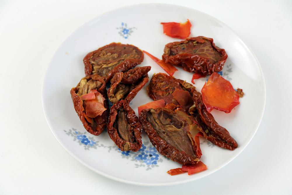 getrocknete Tomate Haut