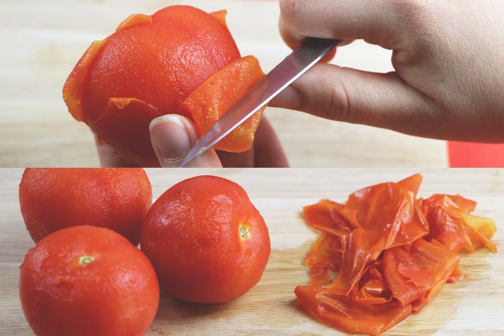 tomaten h uten leicht gemacht so entfernen sie die harte schale. Black Bedroom Furniture Sets. Home Design Ideas