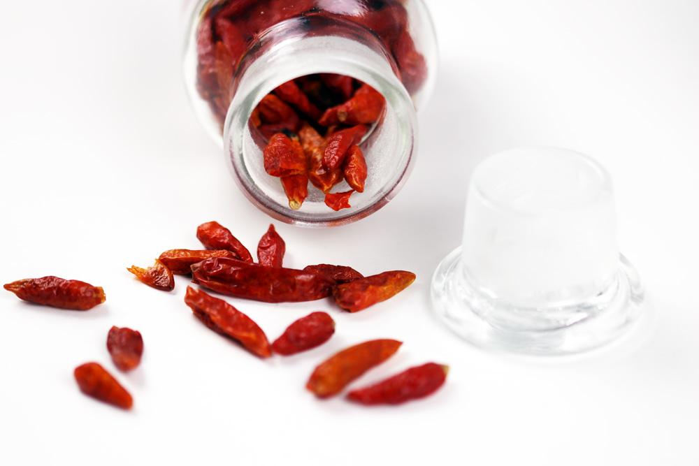 getrocknete Chili - Capsicum