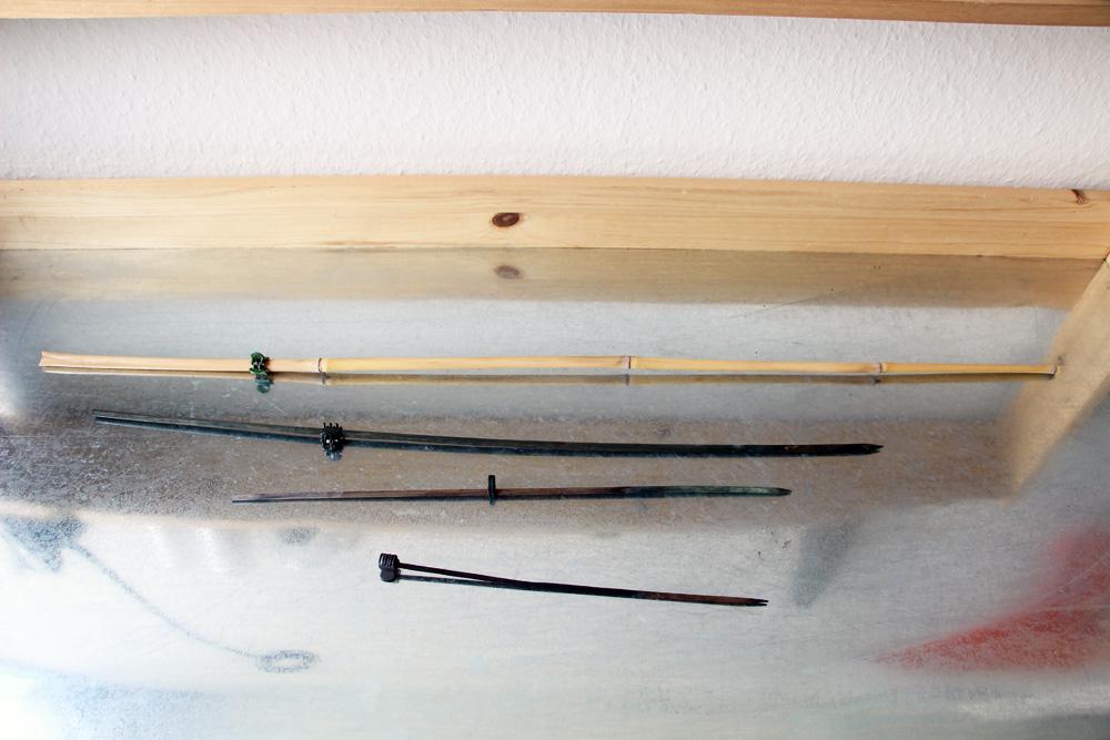 Rankhilfe, Stab, Bambus