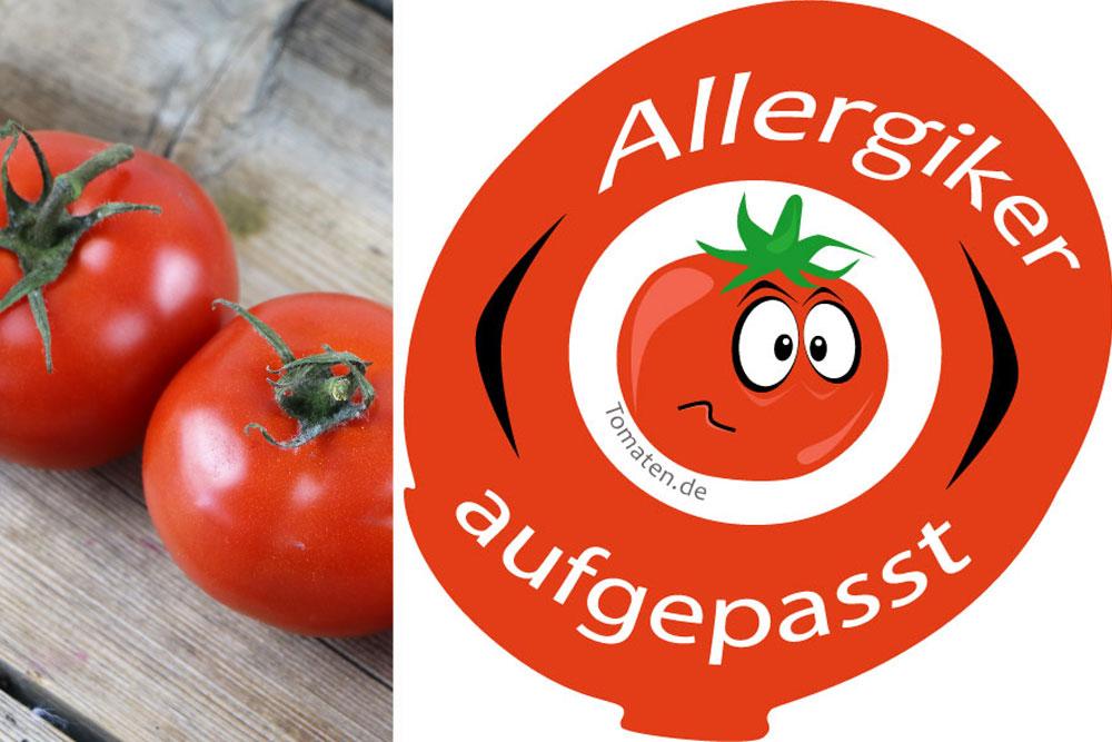 Tomatenallergie hat verschiedene Symptome