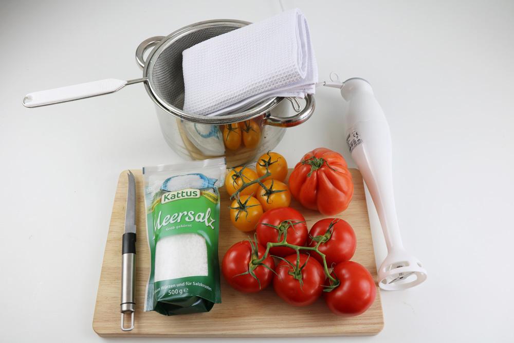 Tomatenmark selber machen - Zutaten