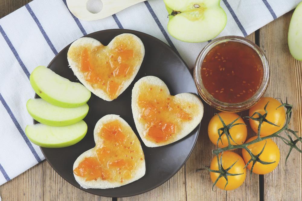 Gelbe Tomatenmarmelade