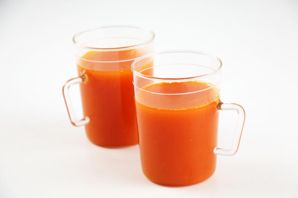 Abnehmen mit Tomatensaft