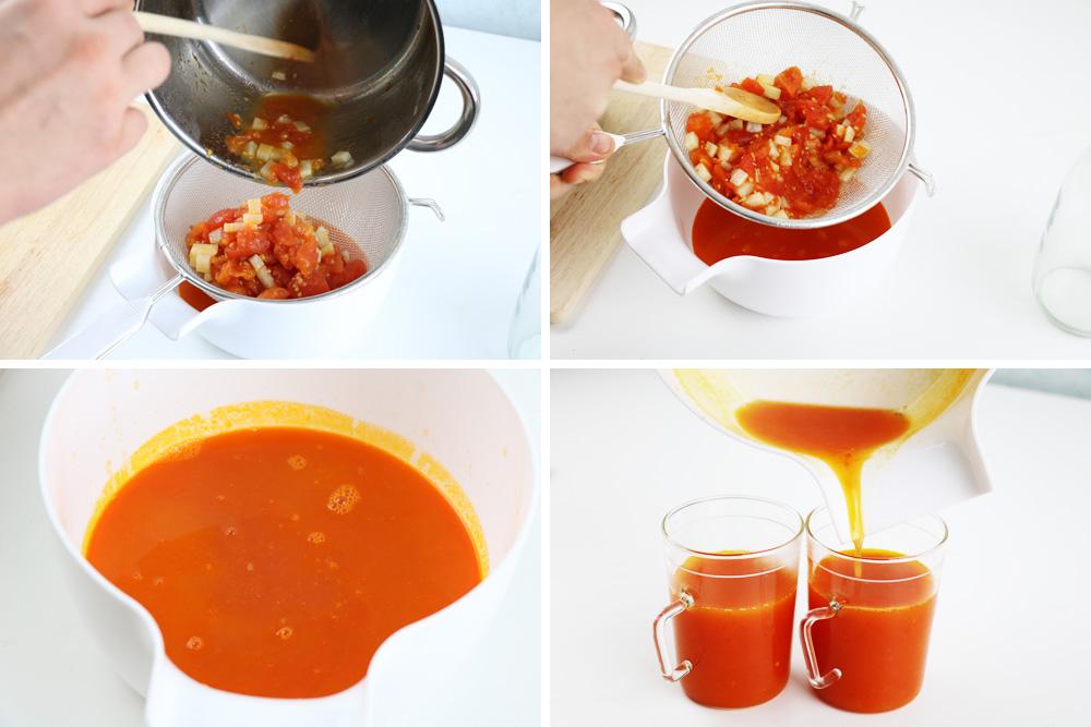 leckeren Tomatensaft zaubern