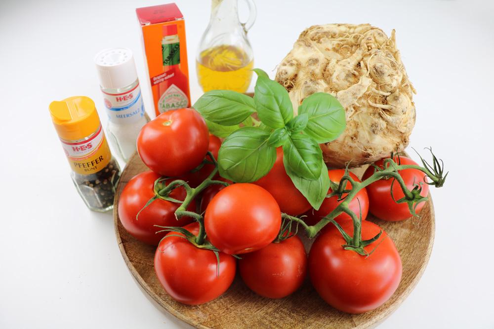 Tomatensaft Zutaten