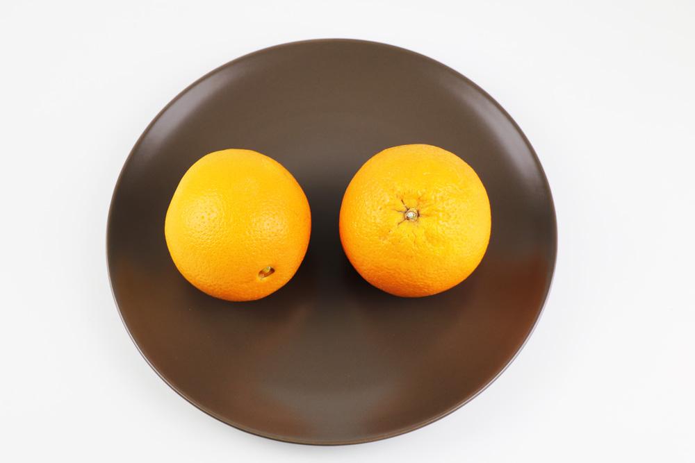 Orangen - Apfelsinen